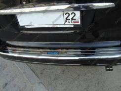 Накладка на бампер. Toyota Land Cruiser Prado, KDJ125W, TRJ120W, GRJ120W, RZJ120W, GRJ121W, VZJ121W, RZJ125W, VZJ120W, VZJ125W, TRJ125W, KDJ121W, KDJ1...