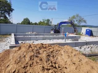 Фундаменты, Подпорные стены, Работы с бетоном, Сваи