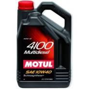 Motul 4100. Вязкость 10W-40, синтетическое