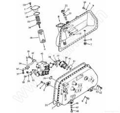 Гидробак и составные части Shantui SD16 16Y-60-00000. Под заказ