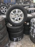 Калёса шины+литьё на 15 5-114,30. Aqua. 205/65R15 зима 10 год. 6.0x15 5x114.30 ET50 ЦО 73,0мм.