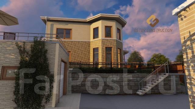 От Проекта до Дизайна коттеджа, здания и сооружения во Владивостоке.