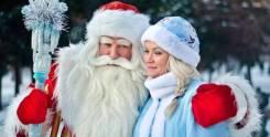 Новый год с Дедом Морозом и Снегурочкой