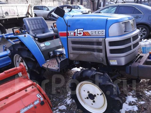 Iseki. Японский мини трактор TM15 с фрезой, 750 куб. см.