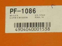 Колодки тормозные дисковые передние PF1086, Toyota. .