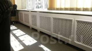 Экраны для радиаторов: массив, мдф