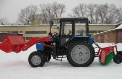 """Члмз. Машина коммунальная МК.03 (погрузчик, щётка, трактор """"Беларус 82.1""""), 4 750 куб. см."""
