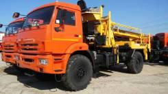 Камаз 43502-45. Бурильно-крановая машина Камаз 43502-3036-45 + БКМ Soosan SCA5000, 11 760 куб. см., 4 000 кг.