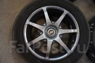 205/60R16 Dunlop SP Sport LM704 с дисками RAYS United Arrows Б/П по РФ. 7.0x16 4x114.30, 5x114.30 ET38 ЦО 73,0 мм.