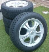 Зимний комплект Dunlop Winter Maxx WM01 225/55R17 на литье Bridgstone. 7.0x17 4x114.30, 5x114.30 ET40 ЦО 72,0мм.