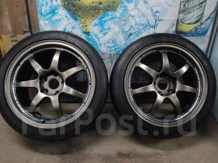 Продам Супер Крутой комплект Спорт колёс WEDS SA90+Лето 215/45R17. 8.0x17 5x114.30 ET35