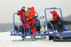 Прицеп пассажирский для снегохода