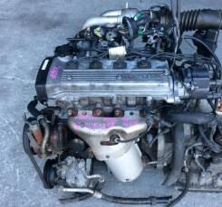 Двигатель Toyota 4EFE трамблерный в сборе! Без пробега по РФ! ГТД, ДКП