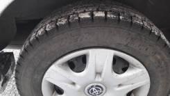 Комплект колёс R-14. Резина зима+ диски+колпаки. x14 5x100.00