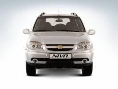 Бампер Chevrolet Niva, с 09г-н. в рестайлинг, передний