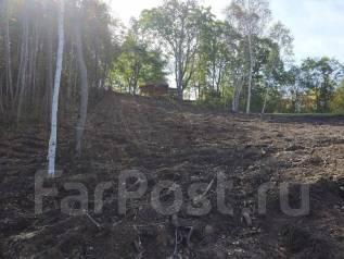 Продам земельный участок (ИЖД) на Синей Сопке. Раскорчеванный. 1 000 кв.м., собственность, вода, от частного лица (собственник). Фото участка