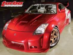 Капот. Nissan 350Z, Z33 Nissan Fairlady Z, HZ33, Z33