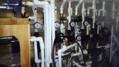 Монтаж теплого водяного пола. Отопление