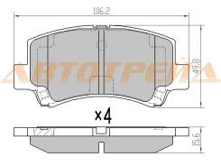 Колодки тормозные перед SUZUKI WAGON R 00-/CHERY A1 07- ST-55810-75F32