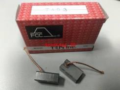 Щетки угольные для обогревателя салона автомобиля 7x10x17 FCC [TA03]