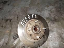 Кулак поворотный передний левый Chevrolet, Daewoo Aveo T250 Kalos Контрактное Б/У 96870491 96870491
