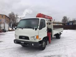 Hyundai HD78. КМУ UNIC 343 на шасси 2013 г. в Москве, 3 900 куб. см., 5 000 кг.