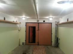 Гаражи капитальные. проспект Острякова 28, р-н Первая речка, 38 кв.м., электричество, подвал. Вид изнутри
