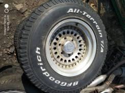 "Комплект колес RAYS с вылетом 30"" на BF Goodrich R15 с Hiace KZH106. x15"" 6x139.70"