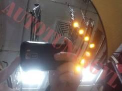 Зеркало заднего вида боковое. Toyota Land Cruiser, URJ202W, UZJ200W, UZJ200, VDJ200, J200 Двигатели: 1URFE, 2UZFE, 1VDFTV, 3URFE. Под заказ