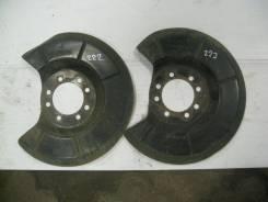 Пыльник тормозного диска заднего Mazda 3 (BK) LF-VE 2.0