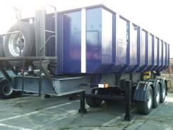 ППС-К-28, 2017. В наличии! Полуприцеп GT7 ППС-К-28 объем 28 кубов, оси 12 тонн!, 31 000 кг.