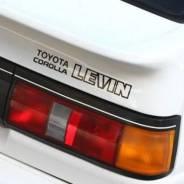 Наклейка. Toyota Corolla Levin