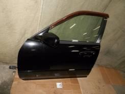 Дверь передняя левая черная в сборе Nissan Skyline ER34 седан