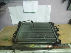 Радиатор охлаждения двигателя. Toyota Duet, M100A