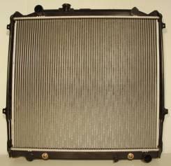 Радиатор охлаждения двигателя. Toyota Hilux Surf, KZN185, KZN185G, KZN185W Toyota Master Ace Surf Toyota Land Cruiser Prado, KD95, KZ71G, KZ71W, KZJ12...