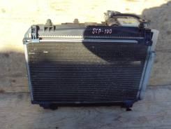 Радиатор охлаждения двигателя. Toyota Ractis, SCP100