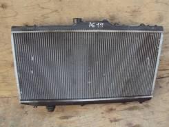 Радиатор охлаждения двигателя. Toyota Corolla Spacio, AE111N, AE111