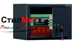 Сейф металлический мебельный взломостойкий AIKO T-230 KL (ВхШхГ) 230x310x250