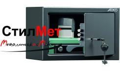 Сейф металлический мебельный взломостойкий AIKO T-200 KL (ВхШхГ) 200x310x200