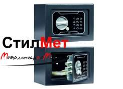 Сейф металлический мебельный взломостойкий AIKO T-140 EL (ВхШхГ) 140x195x140