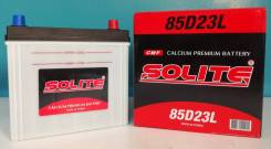 Solite. 70 А.ч., Обратная (левое), производство Корея