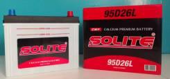Solite. 85 А.ч., Обратная (левое), производство Корея