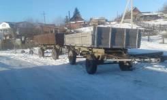 Дормашэкспо 2ПТС-4.5. Продам тракторный самосвальный прицеп, 4 500 кг.
