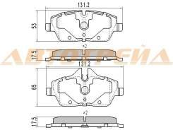 Колодки тормозные передние BMW 1 E81/E82/E87/E88 03-