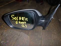 Зеркало заднего вида боковое. Hyundai Solaris, RB Двигатели: G4FC, G4FA