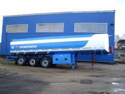 Капри. Полуприцеп-цистерна бензовоз 34м3 алюминий , 1 000 куб. см., 34,00куб. м.