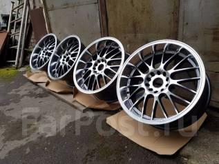 STR Racing. 10.0x18, 5x114.30, 5x120.00, ET22, ЦО 73,1 мм.