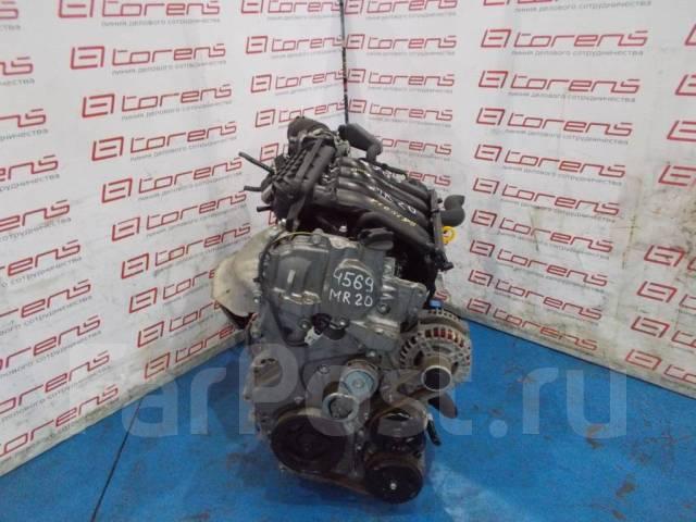 Двигатель в сборе. Nissan Serena Двигатель MR20DE