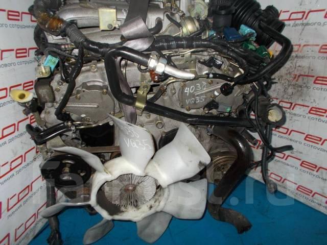 Двигатель на Nissan VQ35DE