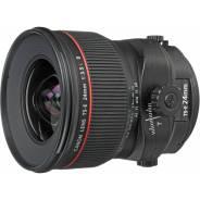 Canon TS-E 24mm f/3.5L II. Для Canon, диаметр фильтра 82 мм